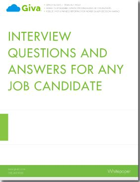 How to Answer Essay Questions For A Job Interview Bizfluent